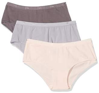 Dim Women's Les Pocket Ecodim Boxer X3 Swim Trunks,16 (Size: 44/46) (Pack of 3)