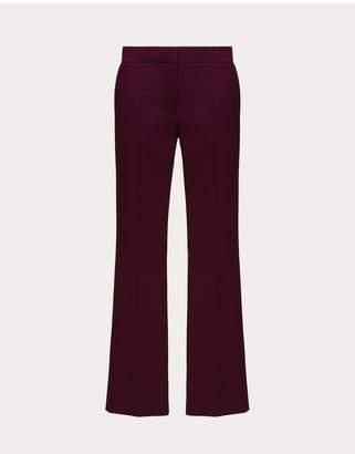Valentino Techno Double Wool Pants