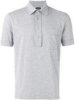Tom Ford slim fit polo shirt - men - Cotton - 50