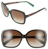Kate Spade 'darrilyn' 58mm Butterfly Sunglasses