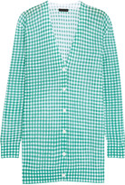 J.Crew Gingham cotton-blend cardigan