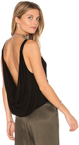 LAmade Liza Tank in Black