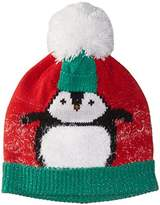Collection XIIX Women's Chilly Penguin Pom Hat