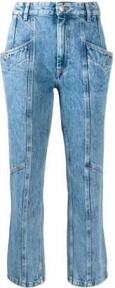 Etoile Isabel Marant slim panelled jeans