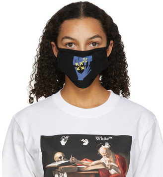 Off-White Black Hand and Arrows Mask