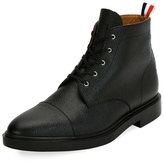 Thom Browne Cropped Derby Cap-Toe Boot