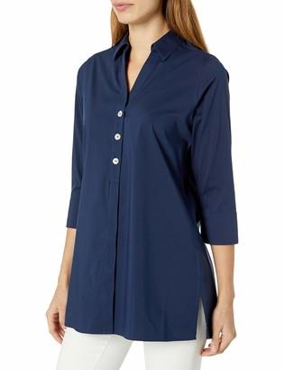 Foxcroft Women's Pamela 3/4 Sleeve Non Iron Stretch Tunic