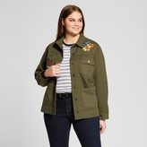 Who What Wear Women's Plus Size Patchwork Jacket