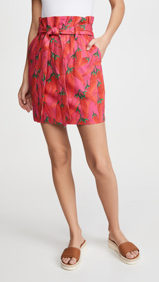 Farm Rio Red Pepper Skirt
