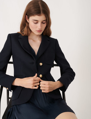 Maje College-style suit jacket