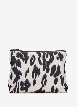 Mint Velvet Lily Animal Print Wash Bag