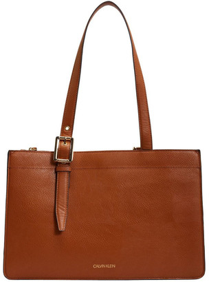 Calvin Klein H0GAZDM2_CAR HAVANA Double Handle Tote Bag