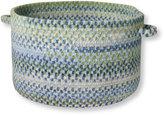 L.L. Bean Braided Chenille Basket