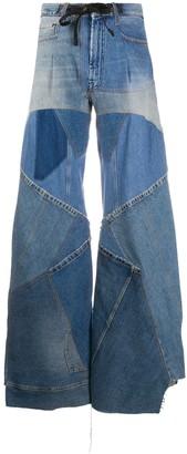 Tom Ford Patchwork-Detail Denim Jeans