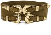 B-Low the Belt double buckle belt - women - Calf Leather/metal - S