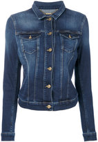 7 For All Mankind denim jacket - women - Cotton/Polyester/Spandex/Elastane - S