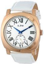 A Line a_line Women's AL-80023-RG-02-WH Pyar Analog Display Japanese Quartz White Watch