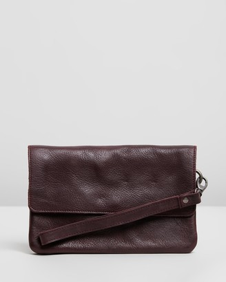Stitch & Hide - Women's Red Purses - Munich Pouch - Size One Size at The Iconic