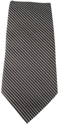 Christian Dior Black Silk Ties