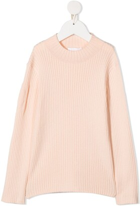 Chloé Kids Ribbed Jumper