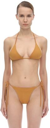 Aexae Tyra Nylon & Lycra Triangle Bikini Top