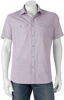 Apt. 9 Men's Modern-Fit Plaid Two-Pocket Button-Down Shirt