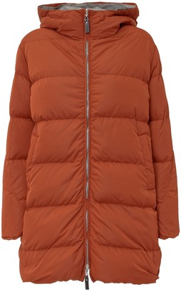 Max Mara The Cube Zipped-Up Padded Jacket