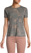 Prince Peter Collections Camouflage Short-Sleeve Distressed Tee