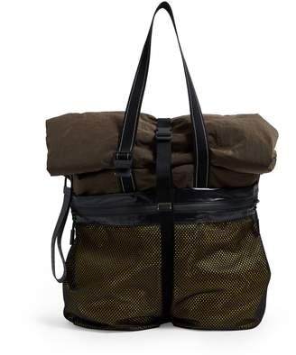 Bottega Veneta Technical Fold-Top Tote Bag
