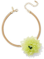 New York & Co. Floral Choker Necklace