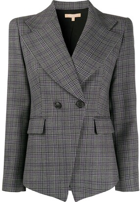 Michael Kors fitted double-breasted blazer