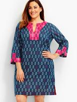 Talbots Womans Pineapple Print Cover-Up