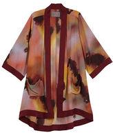 Melissa McCarthy Plus Printed Open Front Kimono