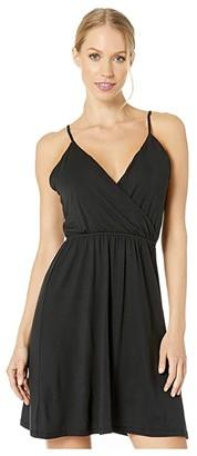 Volcom Not My Luv Cami Dress (Black) Women's Dress