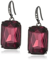 "ABS by Allen Schwartz Black Magic"" Pear Drop Earrings"