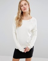 Pam & Gela Annie Destroyed Sweatshirt