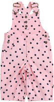 Babies R Us Cynthia Rowley Baby-Soft Girls Corduroy Overall - Pink Dot (0-3 Months)