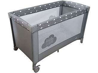 Olmitos Basic Cloud Travel Crib L Grey
