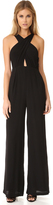 Mara Hoffman Cross Front Jumpsuit