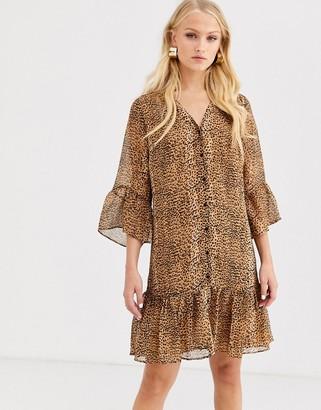 InWear Tanya leopard print dress