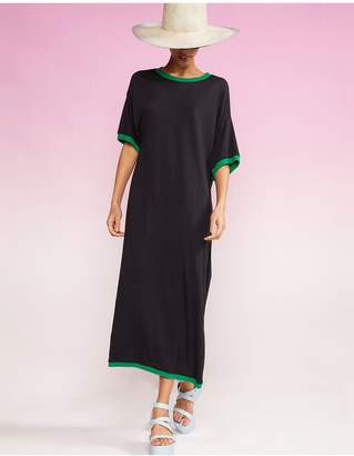 Cynthia Rowley Rhyse Maxi T-Shirt Dress