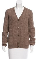A.P.C. Cable Knit Wool-Blend Cardigan w/ Tags