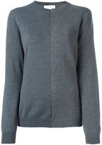 Stella McCartney contrast knitted panel jumper