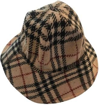 Burberry Beige Wool Hats
