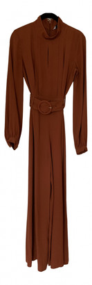 And other stories & Camel Viscose Jumpsuits