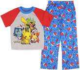 "Pokemon Little Boys' ""4 Favorites"" 2-Piece Pajamas"