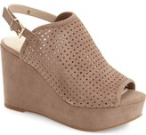 Seychelles 'Landscape' Perforated Platform Wedge Sandal (Women)