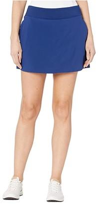 Nike 15 Flex Fairway Skirt Solid (Black/Black) Women's Skort
