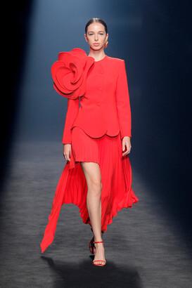 Isabel Sanchis Candelon Long Sleeve Jacket and Skirt