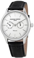 Frederique Constant Men's 40mm Black Leather Band Quartz Watch Fc-259st5b6